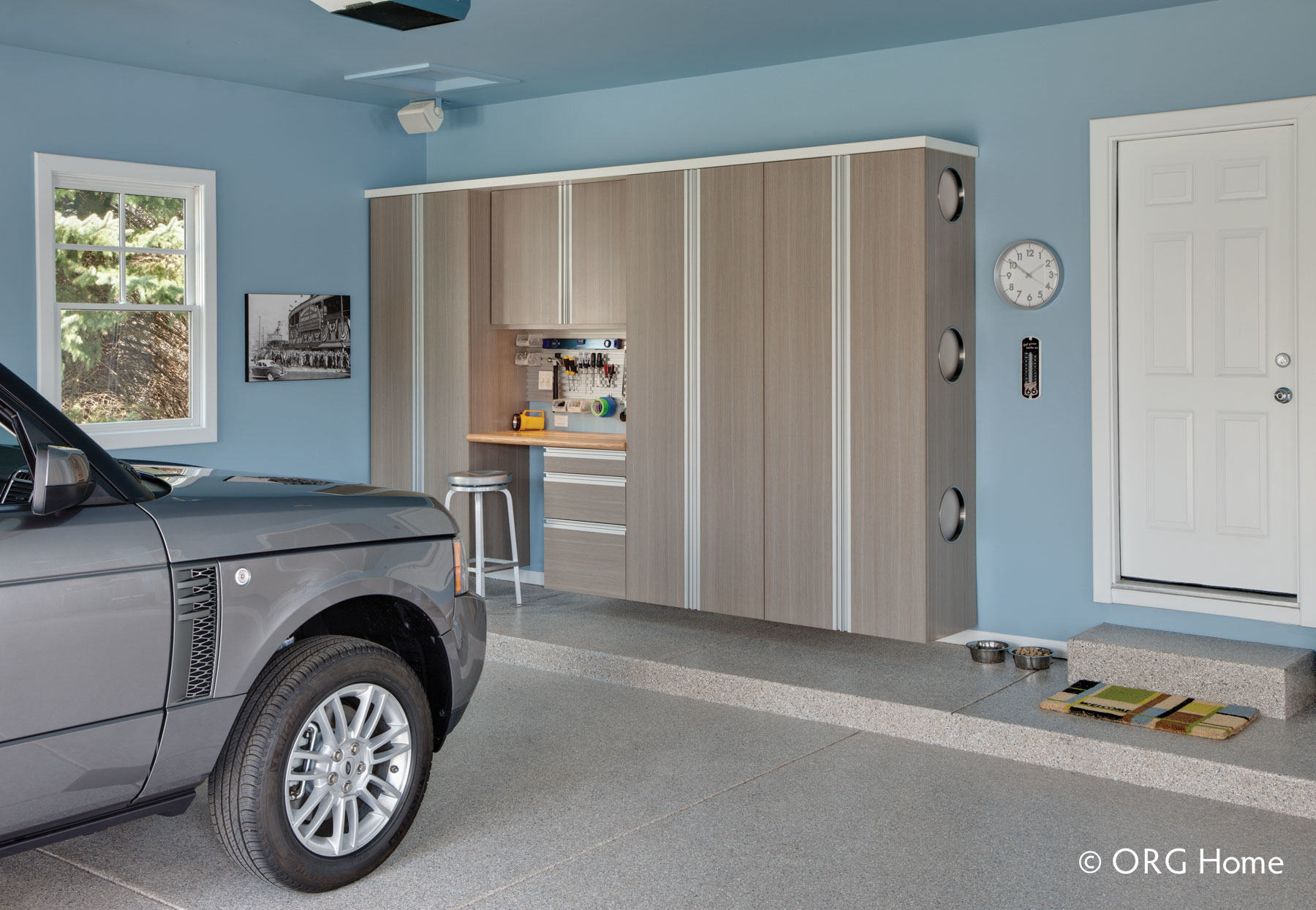 Denver custom home organization colorado space solutions custom garage cabinets rubansaba