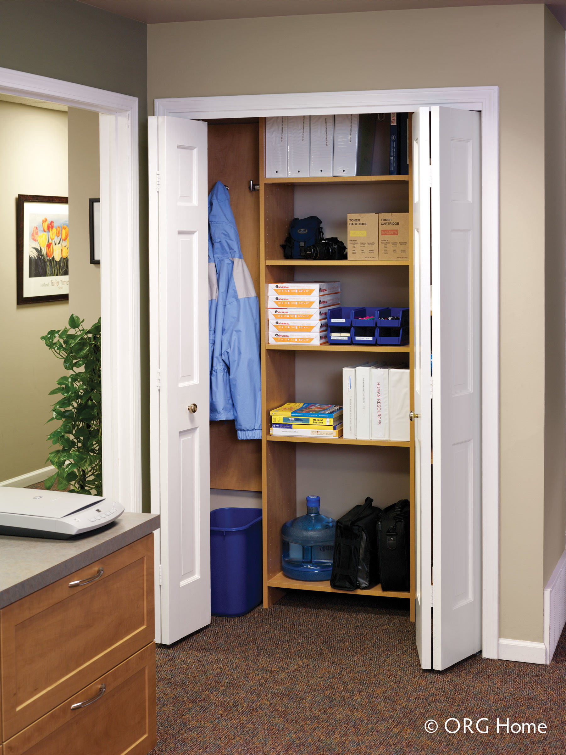 office custom storage