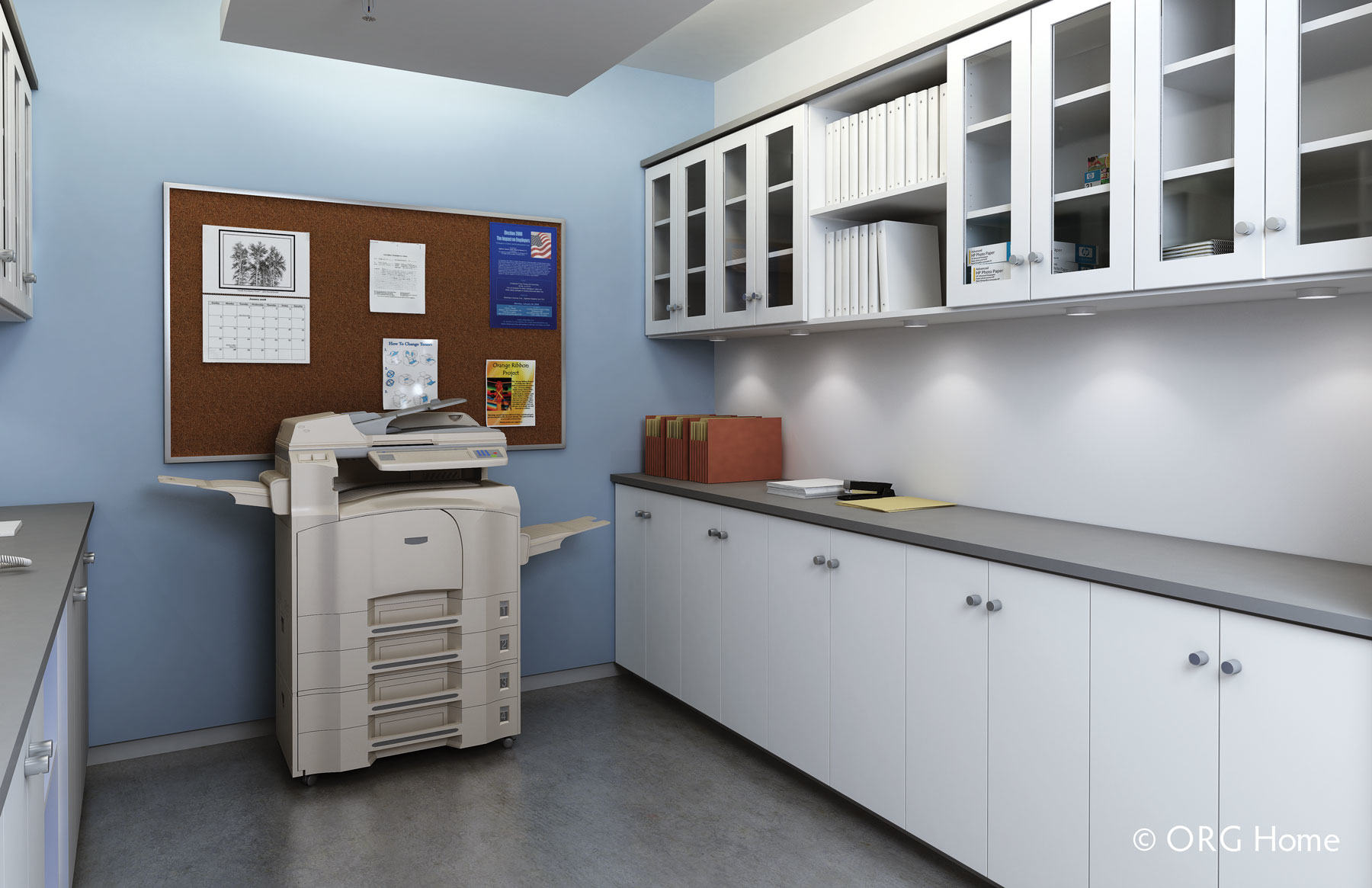 commercial custom cabinet storage