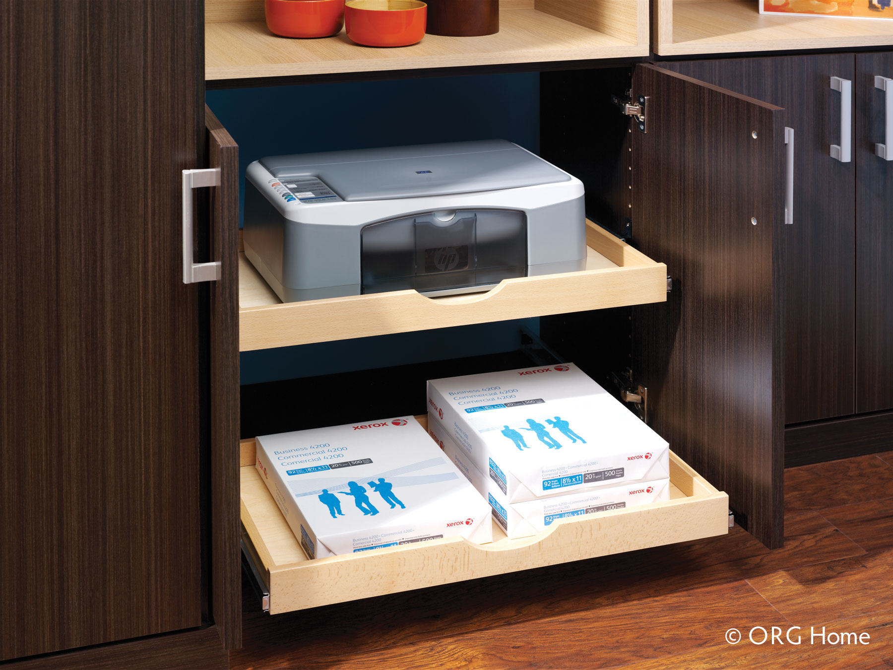 home office pullout drawers