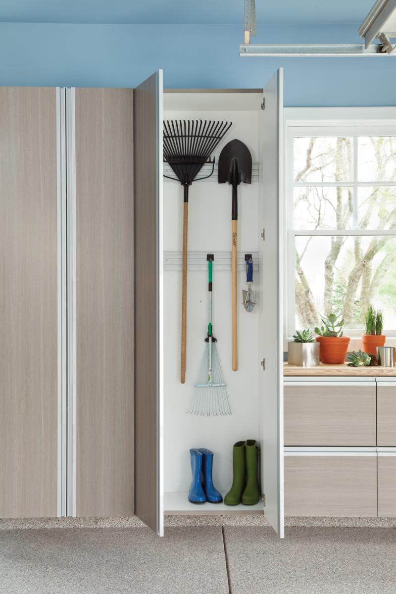 garage storage cabinets for gardening equipment