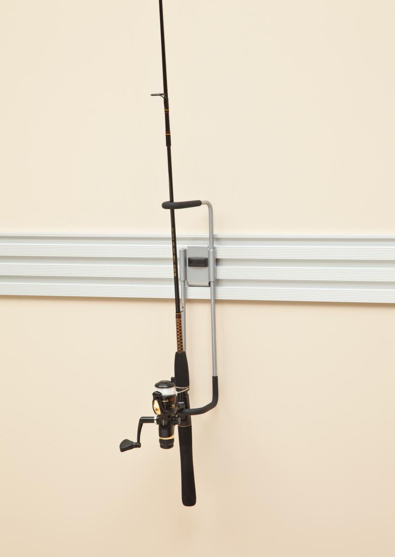 fishing rod garage storage