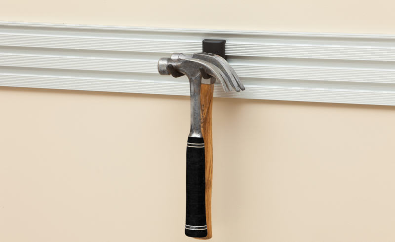 garage wall hammer hook