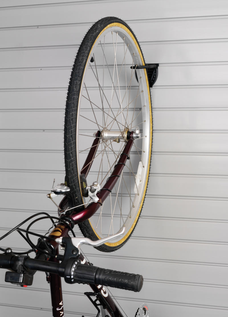 garage slatwall bike hook