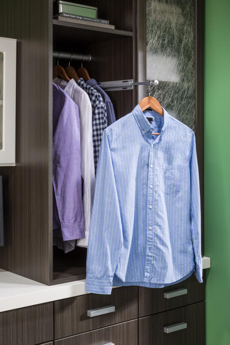 laundry room wardrobe rod